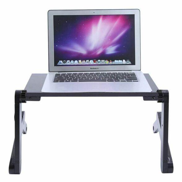 שולחן מתקפל למחשב נייד לשימוש על המיטה או הספה, , large image number null