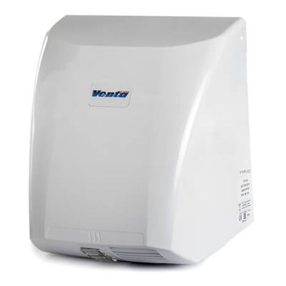 """מייבש ידיים בהספק 2100W עם הפעלה אוטומטית ע""""י גלאי אינפרא-אדום וגוף המכשיר עשוי מחומר פלסטי ABS , , large image number null"""