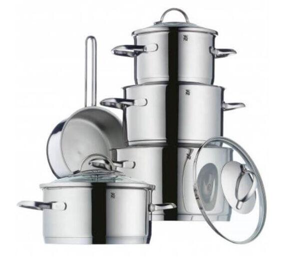סט 5 סירים נירוסטה 18/10 דגם פרובנס מתאים לכל סוגי הכיריים ולתנור מבית WMF גרמניה, , large image number null