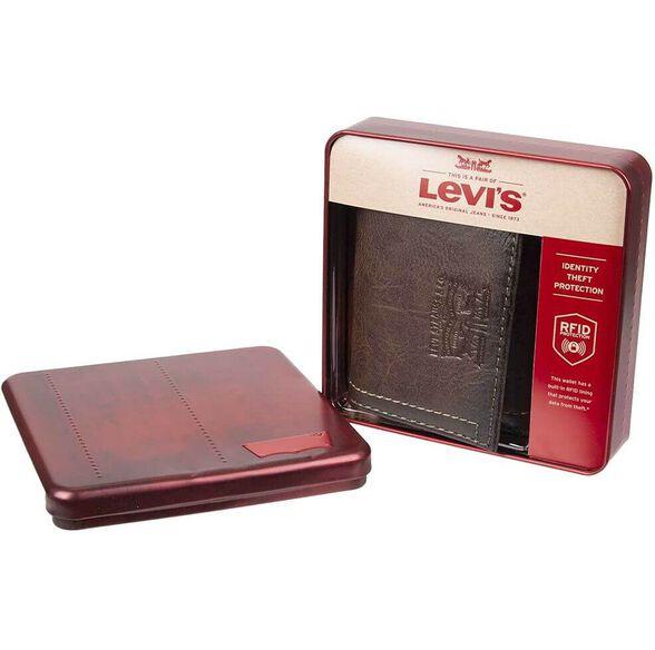 ארנק מעוצב מעור ליוייס | LEVIS, , large image number null