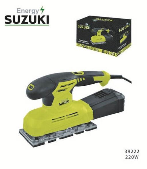 סוזוקי מלטשת לעבודה מאומצת בעלת ידית אחיזה רכה בציפוי גומי איכותי AJ11 דגם 220W , , large image number null