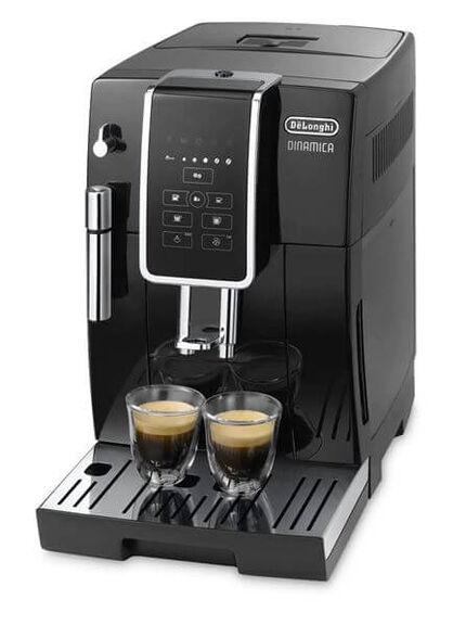 """מכונת קפה אוטומטית להכנת 2 כוסות אספרסו קצר או ארוך בלחיצת כפתור ומערכת הקצפת חלב ידנית עם פאנארלו להקצפה מהירה ומושלמת   מארז קפה 2 ק""""ג DeLonghi דגם DLP255P מתנה  , , large image number null"""