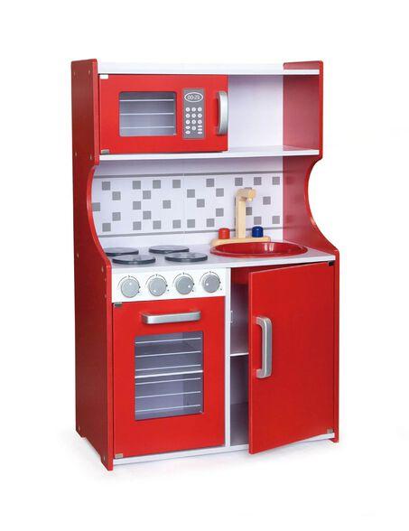 ויגה מטבח עץ מודרני אדום, , large image number null