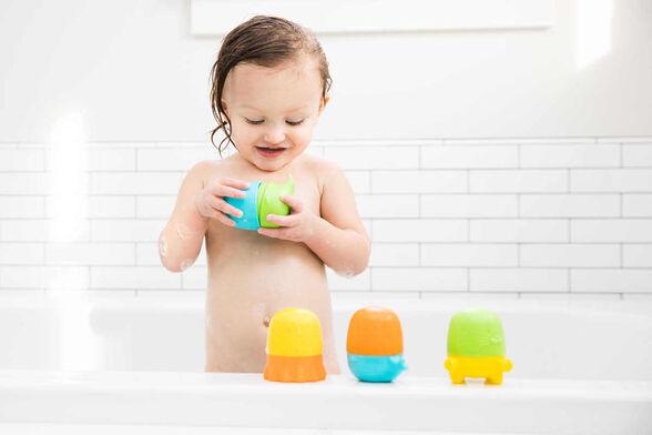 צעצוע אמבט נפתח ומתחלף - 4 דמויות מבית Ubbi, , large image number null