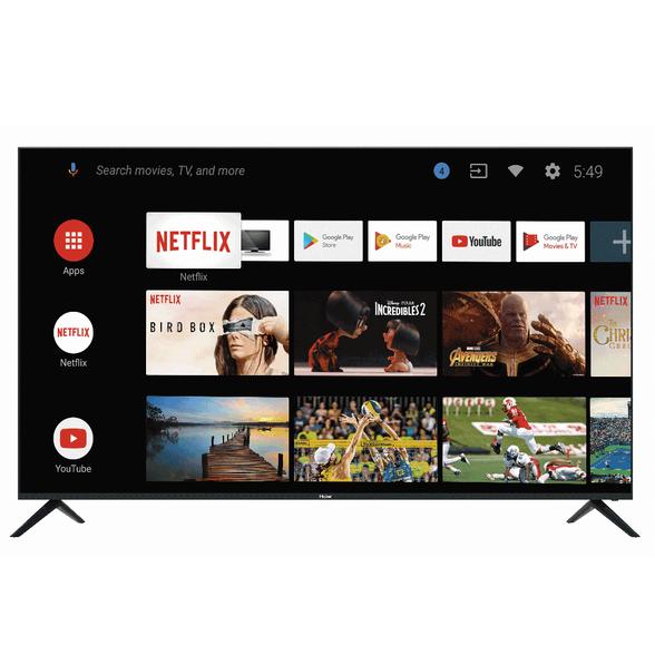 """טלויזיה 65"""" Smart 4K מערכת הפעלה Android 9.0 TV ,עידן פלוס ו - WIFI מובנה מבית Haier דגם LE65K9 , , large image number null"""