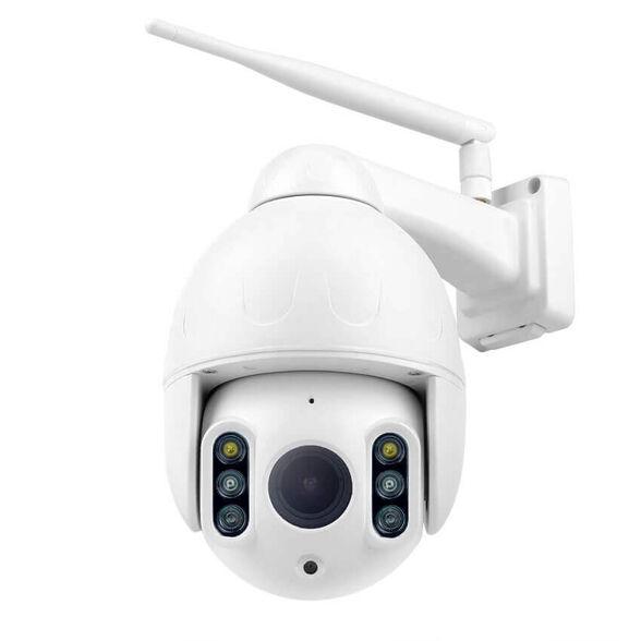 מצלמת אבטחה חיצונית ממונעת IP אלחוטית WANSCAM P2P HD דגם WAN64 עם 1080P   זום אופטי X4   ראיית לילה    הקלטה על כרטיס זיכרון עד 128GB , , large image number null