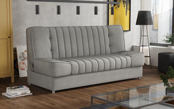 ספה אירופאית מעוצבת נפתחת למיטה עם ארגז מצעים HOME DECOR דגם פסקל , , large image number null
