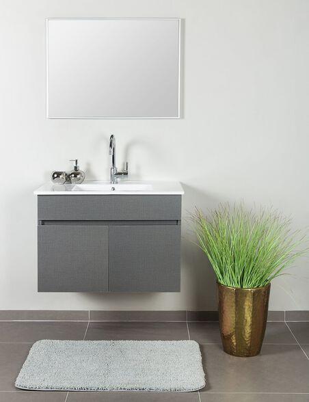 סט ארון אמבטיה תלוי דגם רומא עשוי מעץ סנדוויץ צירים ומסילות מתכת Soft Closing | מגוון מידות וצבעים לבחירה, , large image number null