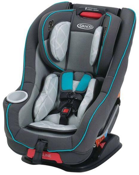 כסא בטיחות Size4Me 65 - אפור/טורקיז Finch, , large image number null