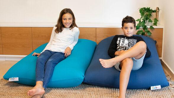 יוגיפוף כחול ג'ינס  מיוצר משתי שכבות של בד נמתח, העשוי כותנה ולייקרה מבית MILEGA, , large image number null
