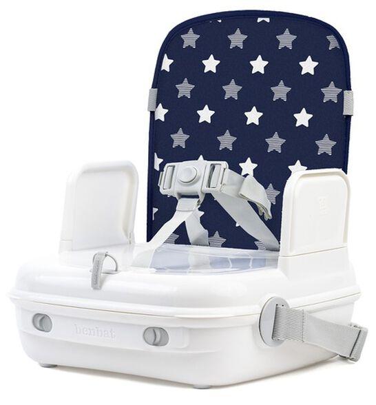 בוסטר אוכל משולב עם תיק נשיאה יאמיגו YummiGo 2 - כחול כוכבים, , large image number null