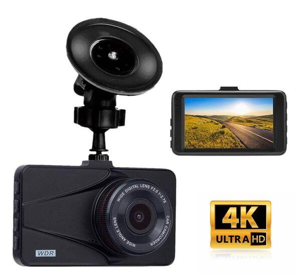 מצלמת דרך לרכב ברזולוציה 4K  עם זווית צילום רחבה 170 מעלות וצג LCD ענק , , large image number null