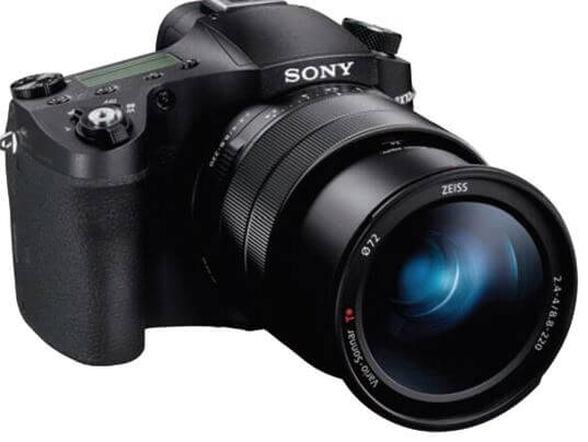 מצלמת סטילס 21 מגה פיקסלים עם תקשורת WIFI עם חיישן גדול ואיכותי בגודל 1 אינץ, מייצב תמונה אופטי מסוג Active Mode דגם DSC-RX10M4 , , large image number null