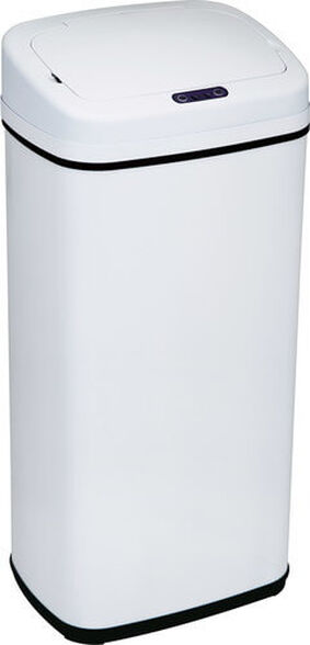 פח אשפה אוטומטי לבן 70 ליטר עם חיישן אלקטרוני SFREE, , large image number null