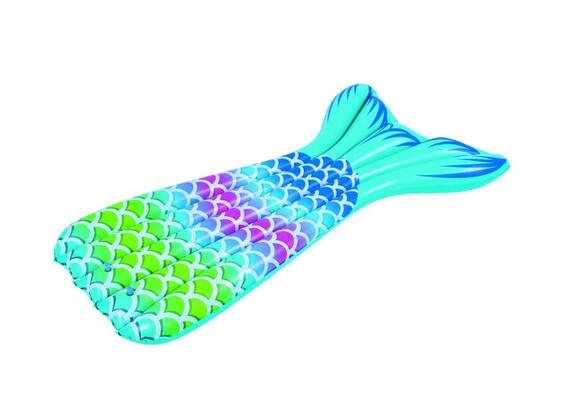 מזרן מתנפח לים/בריכה בצורת סנפיר בת הים, , large image number null