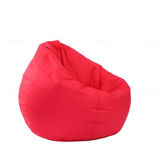 פוף ישיבה גדול 100% כותנה מבית KALGO_אדום, , large image number null