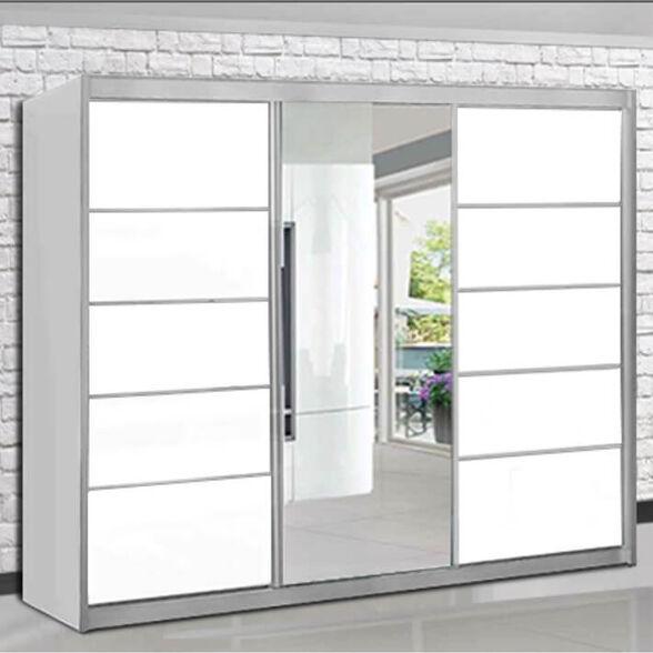 ארון הזזה 3 דלתות + מראה - House design - דגם דקל 2020, , large image number null