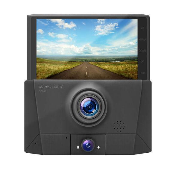 מצלמת דרך לרכב עם 3 עדשות צילום   זווית צילום רחבה °170    תאורת לילה קדמית ואחורית , , large image number null
