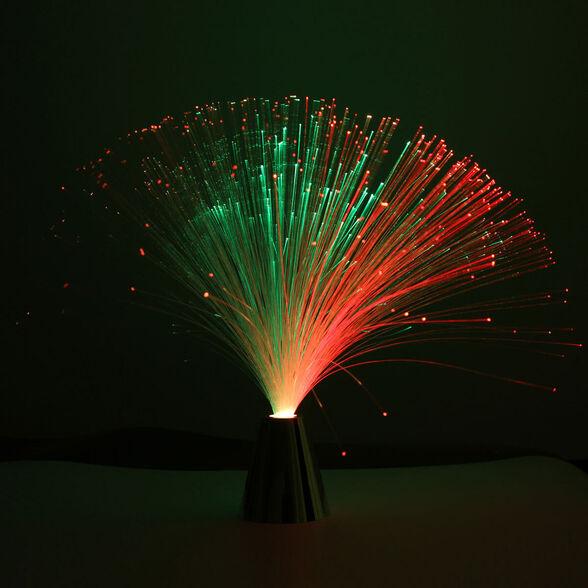 מנורת סיבים אופטית עם תאורה מדליקה, , large image number null