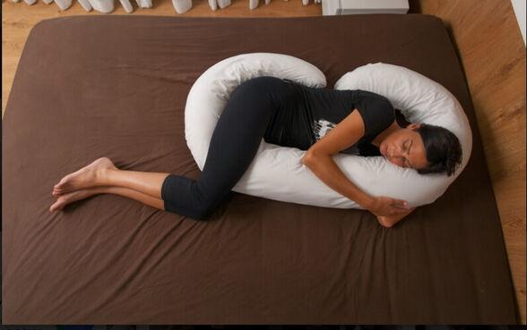 כרית פינוקית - הכרית שתעזור לך בזמן הריון , כאבי גב ועוד ..., , large image number null