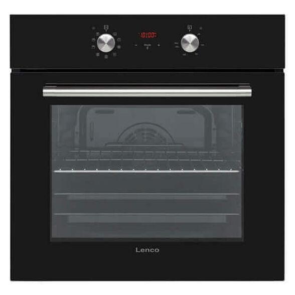 תנור אפיה בנוי דיגטלי 65 ליטר, 8 תוכניות אפיה, טיימר דיגטלי TOUCH בגימור שחור מבית LENCO דגם LBID6510VBL , , large image number null
