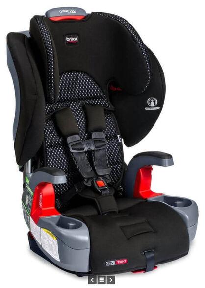כיסא בטיחות משולב בוסטר קליקטייט COOL Grow With You ClickTight   בד מנדף זיעה, , large image number null