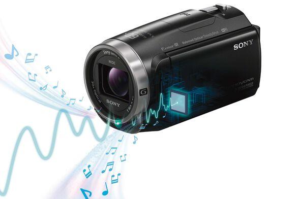 מצלמת וידאו FULL HD תוצרת Sony דגם HDR-CX625B צילום וידאו באיכות HD - 1080/50p , , large image number null