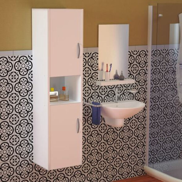 ארון לאמבטיה עם 2 דלתות דגם מריה, , large image number null
