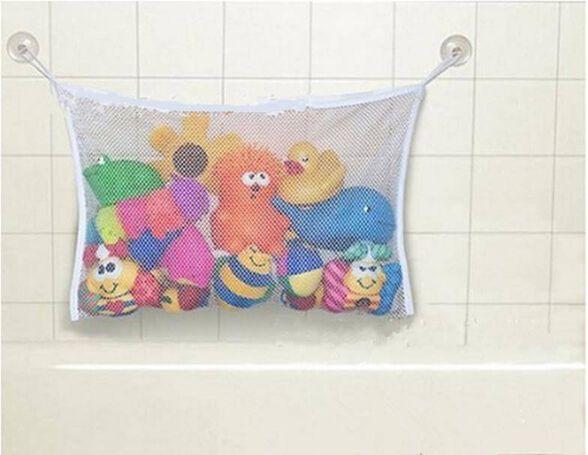 סלצוע לאמבטיה - סל צעצועים חזק מונע עובש הוא בדיוק הפתרון המושלם לבאלגן במקלחת | שני דגמים לבחירה_סלצוע לאמבט, , large image number null