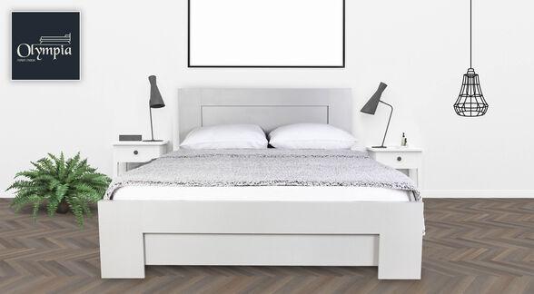 מיטת יחיד או זוגית מעוצבת    מגוון צבעים ומידות לבחירה   דגם  7019  כולל מזרן ( עד מידה 140/190 בלבד) , , large image number null