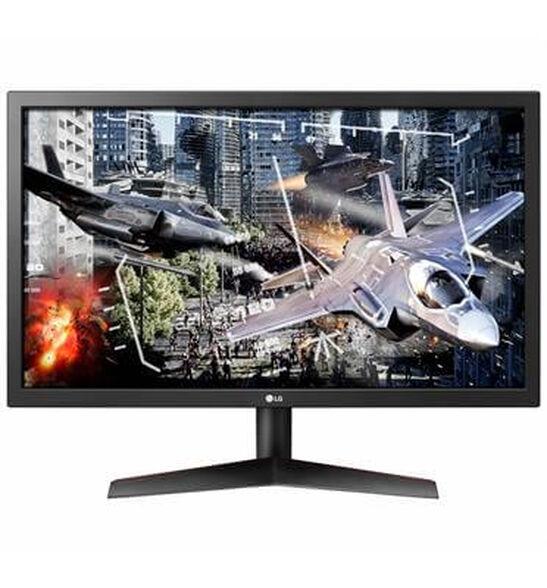 """מסך מחשב 24"""" מקצועי Full HD מיוחד לגיימינג תוצרת LG דגם 24GL600F-B , , large image number null"""