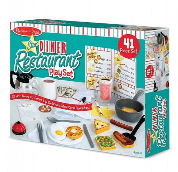 מליסה ודאג סט משחק למסעדה בסגנון דיינר דגם 5188-1, , large image number null