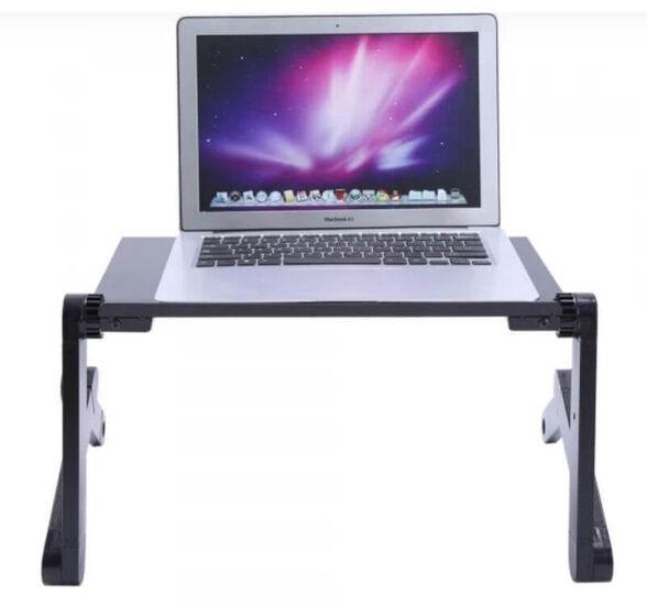 שולחן מתכוונן למחשב נייד עם מגוון מצבים מתכווננים , , large image number null