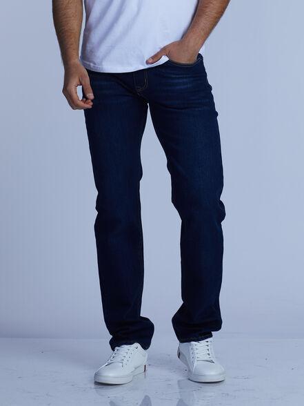 ג'ינס כחול רגל רחבה, , large image number null