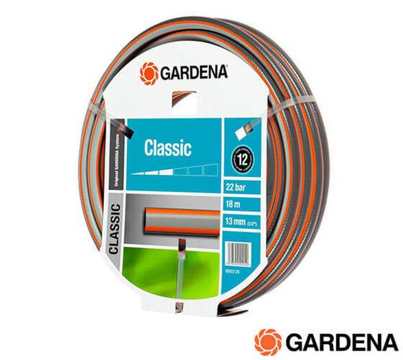 """צינור גן 18 מטר """"1/2 GARDENA CLLASIC, , large image number null"""