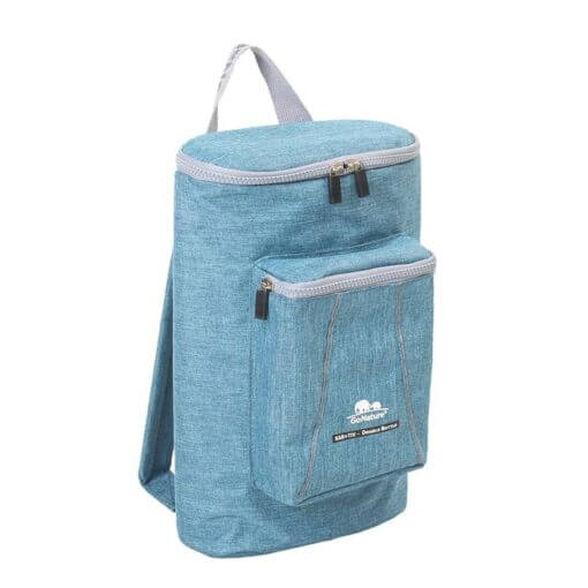 בקבוקר כפול  Kar-Tiv קל משקל לנשיאה על הגב מבית GO NATURE_צבע כחול, , large image number null