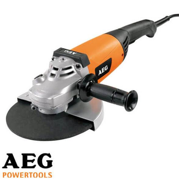 """משחזת זווית """"9 ובעוצמת 2200W של AEG דגם WS 2200-230 , , large image number null"""