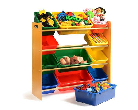 ארגונית צעצועים צבעונית דגם 1000 - 4 קומות מבית TAKE IT, , large image number null