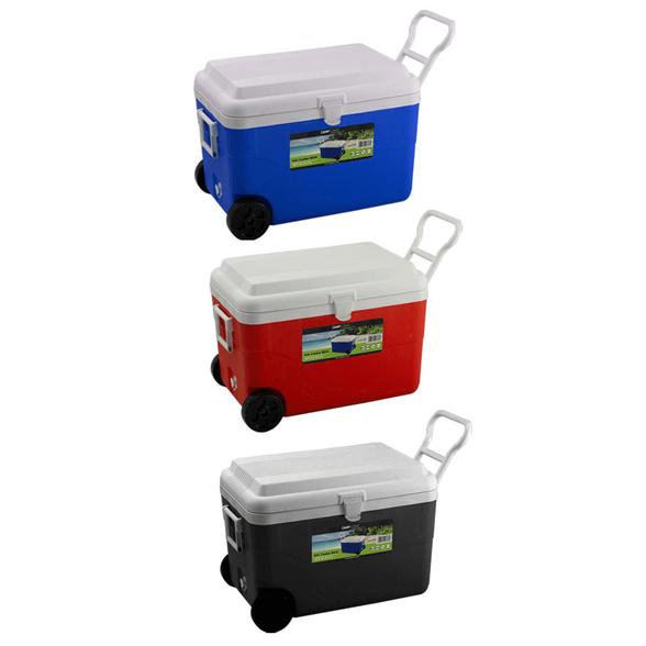 צידנית משפחתית על גלגלים בנפח ענק 60 ליטר במגוון צבעים לבחירה, , large image number null