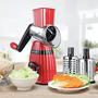 קוצץ ירקות ידני   3 סוגי להבים  - מוצר איכותי ומעוצב   צבע לבחירה
