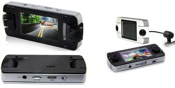 מצלמת דרך לרכב  360 מעלות עם 3 עדשות לצילום פנורמי מלא ובאיכות HD , , large image number null