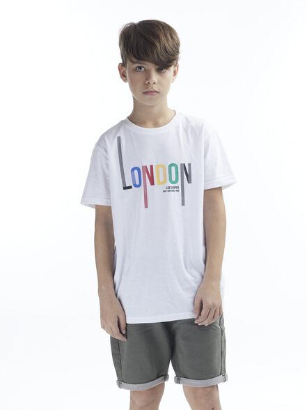 חולצת טי LONDON צבעונית, , large image number null