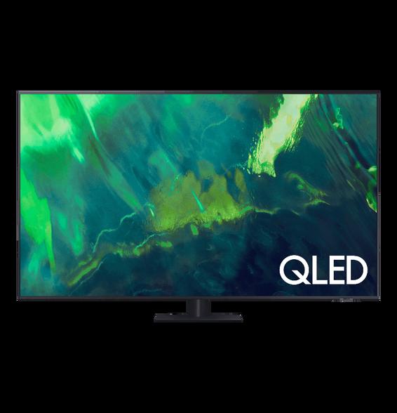 """טלויזיה 65"""" Smart 4K QLED מהסדרה החדשה - אינדקס החלקת תמונה 3400PQI , מעבד תמונה Quantum Processor 4K וטיונר עידן פלוס ואינטרנט אלחוטי מובנה מבית SAMSUNG דגם QE65Q70A , , large image number null"""