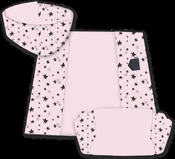 מזרן פעילות רב שימושי 3 ב-1 -מזרן, אמבט שכיבה וספה - ורוד, , large image number null