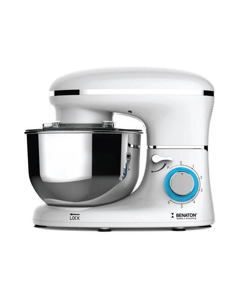 מיקסר Chef שולחני ועוצמתי בהספק 1400W, קערת ערבוב מנירוסטה בנפח של 6 ליטר ו - 6 מהירויות עוצמתיות בהדרגה , , large image number null