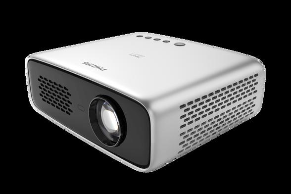 מקרן ביתי Full-HD  WiFiו- Bluetooth   מערכת הפעלה מובנית Philips OS ואפליקציות פופולריות כמו נטפליקס, יוטיוב ועוד דגם Philips Neopix Ultra 2 , , large image number null