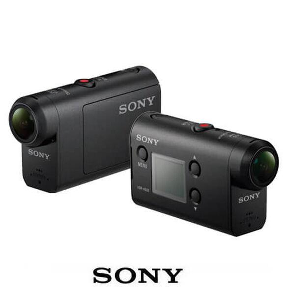 מצלמת וידאו אקסטרים Action Cam SONY דגם HDR-AS50B בעלת תקשורת WI-FI וGPS מובנה | עם עדשה איכותית Carl Zeiss | זווית צילום אולטרה רחבה של 170 מעלות , , large image number null