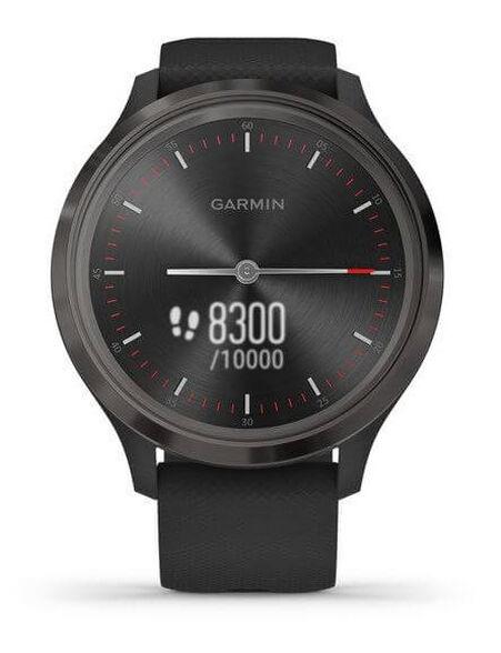 שעון חכם היברידי  Vivomove 3 עם מסך מגע נסתר   vivomove 3 Sport Black-Gunmetal,Silicone, , large image number null