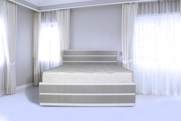 מיטה זוגית עשויה מלמין יצוק מבחר צבעים דגם 7005 , , large image number null