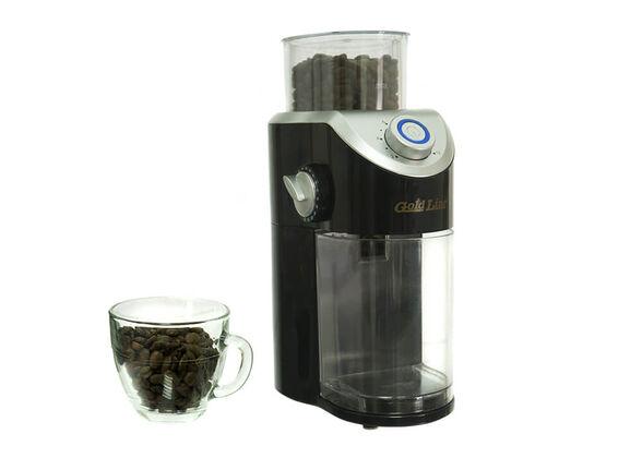 מטחנת קפה מקצועית LATTE DEL CAFFE בעלת 8 דרגות טחינה ואפשרות להכנת 2-12 מנות , , large image number null